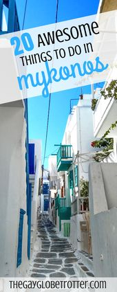 These 20 awesome things to do in Mykonos should de…