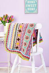 Crochet-Along Blanket pattern by Corinne Bradd