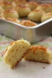 Pão de batata de queijo desse super macio   – Pães