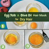 Egg and Olive oil Hair Masks: Get Beautiful Hair like a Movie star
