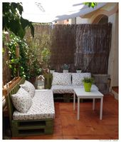 DIY: Creating a chill out corner in the garden.  – For the Home