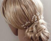 Goud haar pinnen bruiloft haaraccessoires Crystal Hair pins bruids haar pinnen haaraccessoires kristallen bruids haaraccessoires 8222