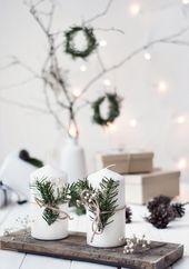 Photo of 50+ schöne minimalistische Weihnachtsdekor-Ideen
