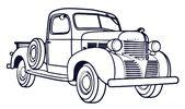 Malvorlagen Antike Autos zum ausdrucken