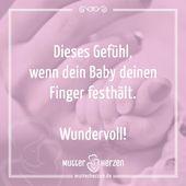 Weitere schöne Sprüche auf: www.mutterherzen.de #finger #hand #halten #baby    – Dies & Das