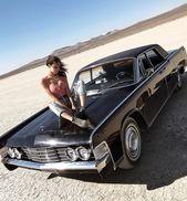 Classic Cars And Girls Woman Beautiful 65