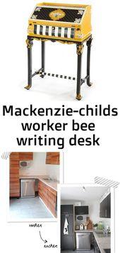 Mackenzie-childs worker bee writing desk