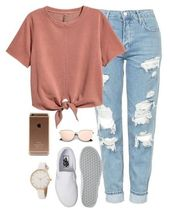 Cute comfortable casual look. Perfect for the city! #shopthelook #SpringStyle #Week …