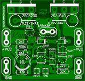 2sc5200 2sa1943 amplifier circuit diagram pcb Here in this