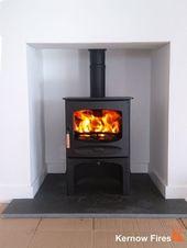 Charnwood C5 with log store wood burning stove ins…