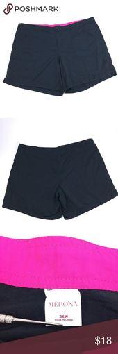 Merona Plus Size Schwarz Badeanzug Shorts Bottoms Modest w / Taschen und Knopfverschluss …   – Shorts
