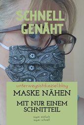 Maske Nahen Super Einfach Masken Nahanleitung Schnittchen