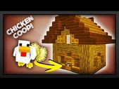 Minecraft – How to make a Working Chicken Coop – YouTube