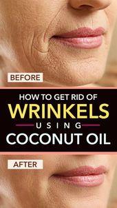 Wie loswerden von Falten mit Kokosöl – Skin tightening
