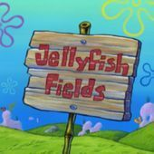 Tips For Jellyfish Fields Tips For Jellyfish Fields Is A Spongebob Squarepant Tips For Jellyf Spongebob Painting Spongebob Drawings Spongebob Birthday