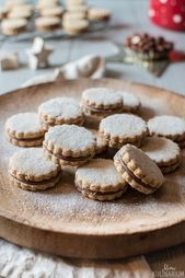 Galletas de chocolate con avellanas   – Weihnachten