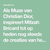 Als Muze van Christian Dior, inspireert Mitzah Bricard tot op heden nog steeds d… – Gifts for Andréia