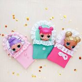 "Doll Sleeping Bag for LOL, Sylvanian family, Pet Shop, LOL Doll Accessories by M… – шитье ""игрушки"""