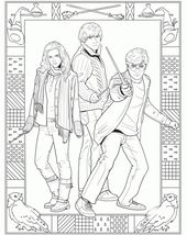 Harry Potter Coloring Pages Free to Print   67448