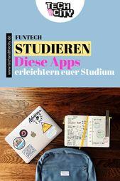 Studieren – Mit diesen Apps erleichtert ihr euer Studium!