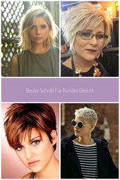 Bester Schnitt für rundes Gesicht beste Frisur für molliges rundes Gesicht mä…,  #Beste #Be…
