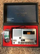 150 0 Vintage Sony Tc 150 Portable Cassette Recorder 30off Cassette Carstereo Radio Cassette Recorder Sony Electronics Sony Headphones
