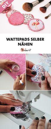 Upcycling: Wattepads / Abschminktücher nähen – kostenlose Nähanleitung über Makerist …   – Haushalt/Kosmetik