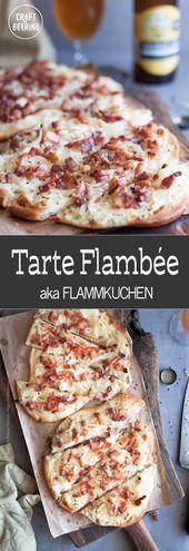 Tarte Flambee aka Flammkuchen