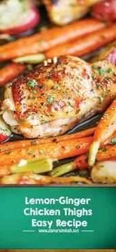 SO TASTY GARLIC RANCH CHICKEN AND VEGGIES RECIPE | DAPUR SIMBAH  SO DELICIOUS EA…
