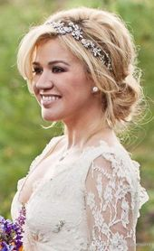 Bridal Hairstyles With Headband Updo Low Buns 22+ Ideas