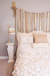 35 Erstaunlich schöne Shabby Chic Schlafzimmer Design und Dekor Ideen