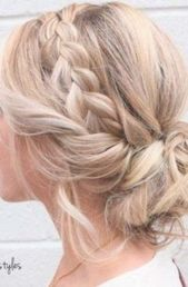 32+ Ideas Wedding Hairstyles For Long Hair Guest Up Dos For 2019 #hair #wedding #hairstyles