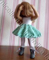 Tutoriel de poupée gratuit: Jupe Corolla   – Chéries de Corolle