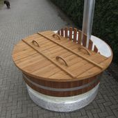 17 Best Ideas About Badetonne On Pinterest | Sauna Im Garten ... Whirlpool Im Garten Charme Badetonne