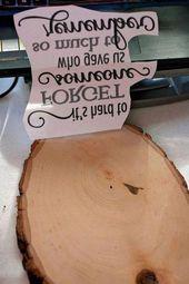 DIY Holz verbrannt Tribut-Plakette für einen geliebten Menschen für Anfänger, Handwerk #LittleWoodP …