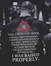 Viking, Norse, Gym t-shirt & apparel, Yes I'm old school, back
