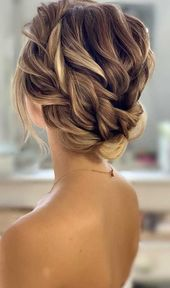 100 Best Wedding Hairstyles Updo For Every Length - #every #hairstyles #length #wedding - #HairstyleMessy