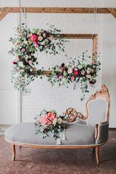 Von Sommerpfingstrosen inspiriertes Hochzeitsshooting   – Wedding inspiration