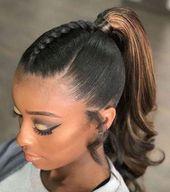schwarze Frisuren Hochsteckfrisuren #Blackhairstyles