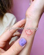 Rote Mini-Tattoos ❤️ Hast du eine? 😍 ⠀ #VTS _…