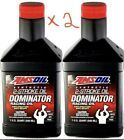 Two Quarts Amsoil Dominator 2 Stroke Engine Oil Full Synthetic