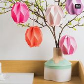 Grafische Ostereier falten – Ostern & Frühling * Easter & Spring * Dekoration & Basteln & DIY