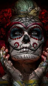 La Calavera Catrina HD Wallpaper