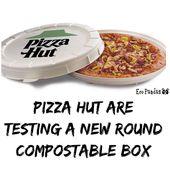 """Pizza Hut probiert eine """"Incogmeato"""" -Pizza aus, die in einem Industriekomp …"""