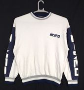 Vintage Nissan Sweatshirt Nissan Crewneck Nissan Motorsport Sweater Pullover Nissan Motorsport Racing Embroidery Logo Black Size Large