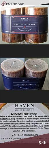 HAVEN STREET CANDLE SMOKED BIRCH /& VETIVER SOY WAX BLACK MATT GLASS HHA7319 NEW