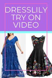 Cheap DressLily Plus Size Dresses Review 15