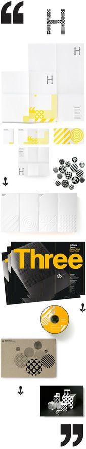 H #branding #design #typography   – VI