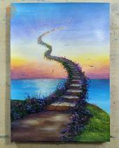 20 Pretty Landscape Painting Ideas – Painting Tutorials Videos | Part 3 – 🍃Inga🍃