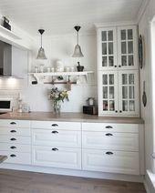 #ikea #ikeafurniture – ikeakartal.com – IKEA Küche! #behindabluedoor #kitche …